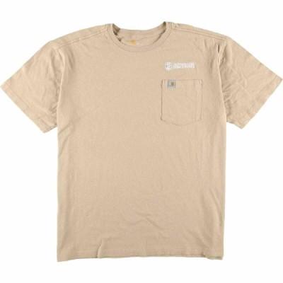 カーハート Carhartt 半袖 ロゴTシャツ メンズXL /eaa071416