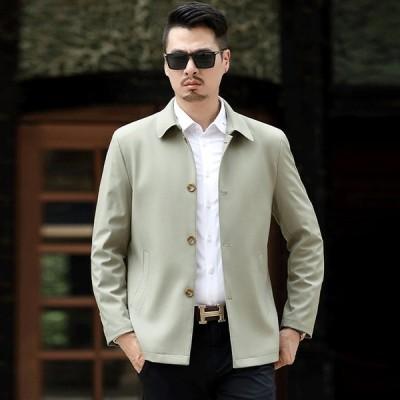アウター ブレザー テーラード メンズジャケット カジュアル ビジネス 長袖 スリム ジャケット 薄手 細身 メンズ