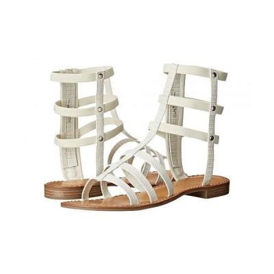 Chinese Laundry チャイニーズランドリー レディース 女性用 シューズ 靴 サンダル Gemma - White Lizard