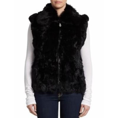 シュレル レディース アウター ジャケット Rabbit Fur Vest