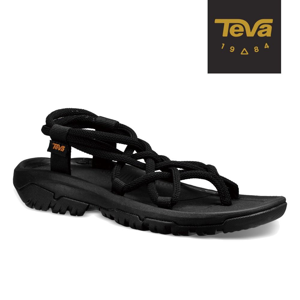 【TEVA】女 Hurricane XLT Infinity 羅馬織帶運動涼鞋/雨鞋/水鞋-黑色 (原廠現貨)