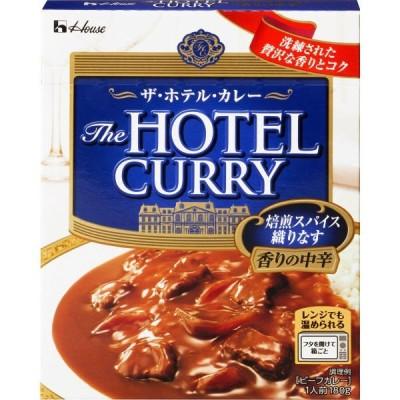 ハウス食品 ザ・ホテル・カレー 香りの中辛 1食