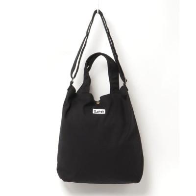SITRY / 【Lee】キャンバス2WAYビッグショルダートートバッグ WOMEN バッグ > トートバッグ