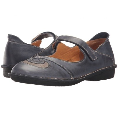 スプリングステップ Spring Step レディース スリッポン・フラット シューズ・靴 Cosmic Blue