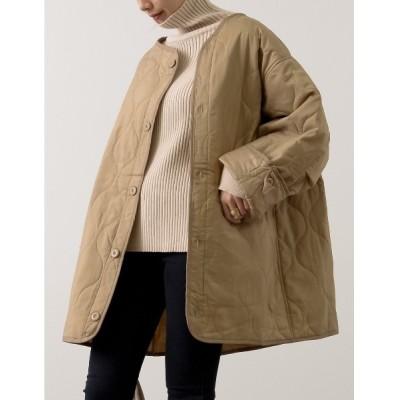 Re:EDIT / ビッグシルエット中綿キルティングジャケット WOMEN ジャケット/アウター > ダウンジャケット/コート