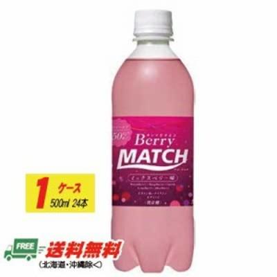 大塚食品 ベリーマッチ (Berry MATCH) 500ml×24本 (1ケース)地域限定送料無料
