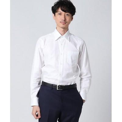<TAKEO KIKUCHI(Men)/タケオキクチ> シャドーチェックシャツ シロ001【三越伊勢丹/公式】