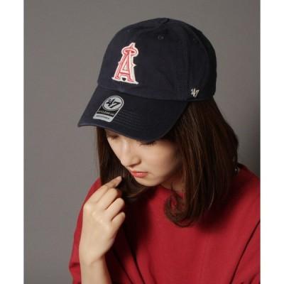 帽子 キャップ 【47 brand】オフィシャルメジャーリーガー 球団ロゴフェルトワッペンベースボールキャップ