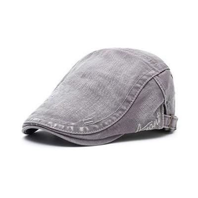 M MOACC メンズ ベレー帽 コットンバックル 調節可能 ニュースボーイハット キャビビーギャツビーキャップ US サイズ: One Size カ