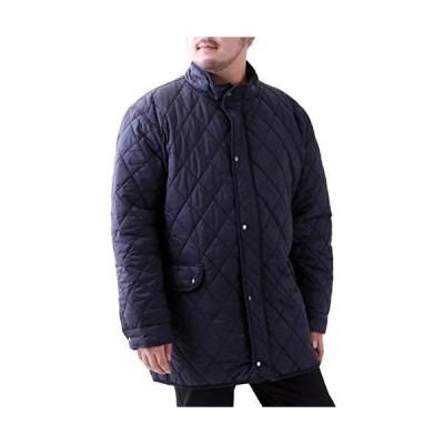[ルイシャブロン] キルティングジャケット メンズ おおきいサイズ コート ジャケット アウター カジュアル ブルゾン 無地 中綿 撥水加工