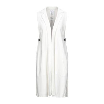 JOSEPH RIBKOFF テーラードジャケット ホワイト 8 レーヨン 63% / ナイロン 30% / ポリウレタン 7% テーラードジャケット