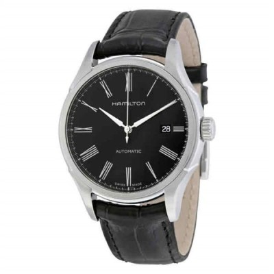 腕時計 ハミルトン メンズ Hamilton Valiant Automatic Black Dial Men's Watch H39515734