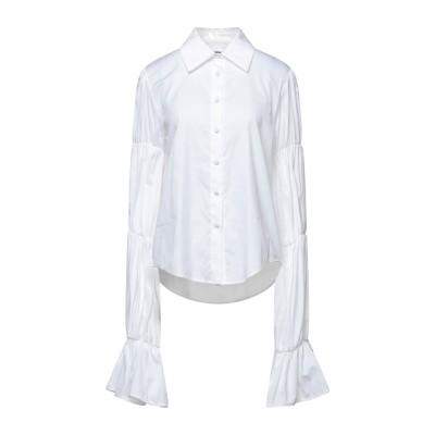 フェデリカ・トシ FEDERICA TOSI シャツ ホワイト 38 コットン 76% / シルク 24% シャツ