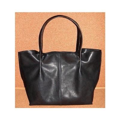 Groover Leather グルーバーレザー 肉厚 カウハイド シュリンクレザー製 大型 トートバッグ (Lサイズ/紺) 牛革 本革 鞄 サドルレザー バッグ メンズ レディース