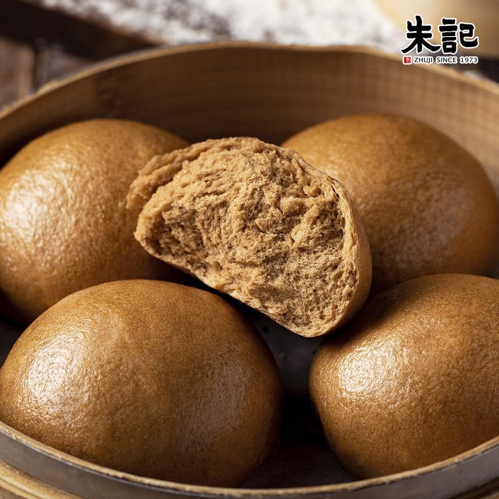 【朱記餡餅粥】手炒黑糖饅頭 (4顆) *超取每筆訂單上限6包*
