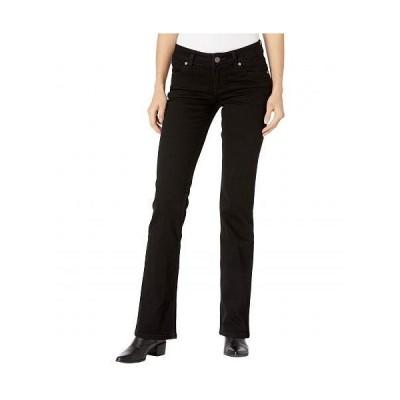 Wrangler ラングラー レディース 女性用 ファッション ジーンズ デニム Retro Mae Mid-Rise Bootcut Jeans - Black