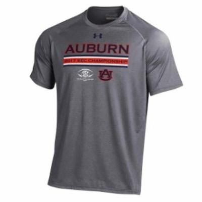 Under Armour アンダー アーマー スポーツ用品  Under Armour Auburn Tigers Gray 2017 SEC Champ Bound Friday Tiger Walk Through T-Sh