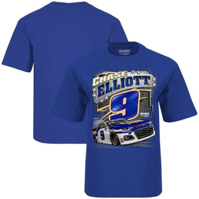 キッズ スポーツリーグ モータースポーツ Chase Elliott Hendrick Motorsports Team Collection Youth NAPA Surge T-Shirt - Royal