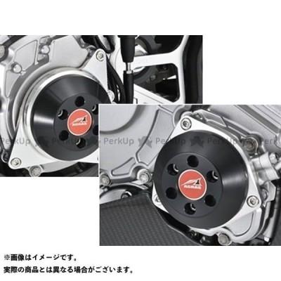 【無料雑誌付き】アグラス YZF-R1 YZF-R1M レーシングスライダー 2点セット ジェネレーター+クランク カラー:ジュラコン/ブラック A…