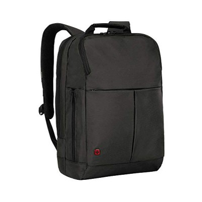 "Wenger 601069 RELOAD 14"" Laptop Backpack , Padded laptop compartment with iPad/Tablet / eReader Pocket in Grey {17 Litres} 並行輸入品"