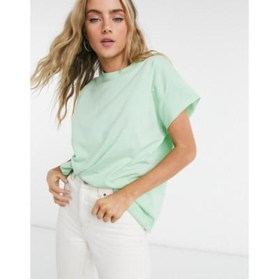 エイソス レディース シャツ トップス ASOS DESIGN oversized sleeveless t-shirt in apple