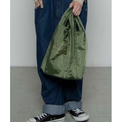 WEGO / WEGO/グラフィックエコショッパートートバッグ MEN バッグ > エコバッグ/サブバッグ