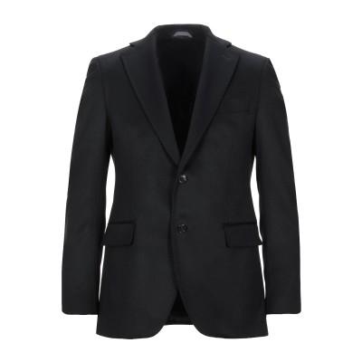 TOMBOLINI テーラードジャケット ブラック 52 バージンウール 100% テーラードジャケット