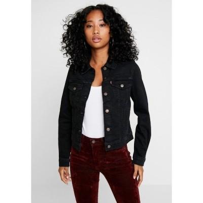 リーバイス ジャケット&ブルゾン レディース アウター ORIGINAL TRUCKER - Denim jacket - black