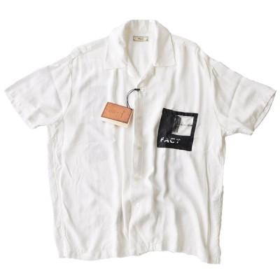 Iroquois イロコイ シャツ UNWRITTEN オープンカラーシャツ 白 S-M トップス 381114