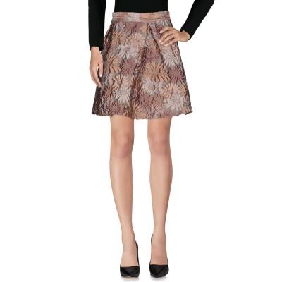 カオス KAOS ひざ丈スカート パステルピンク 44 ポリエステル 82% / ナイロン 18% ひざ丈スカート