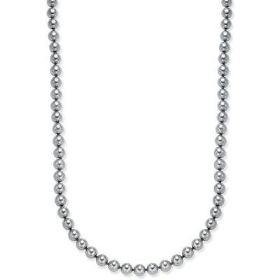 チャータークラブ Charter Club レディース ネックレス ジュエリー・アクセサリー Imitation Pearl (8mm) Strand Necklace Gray