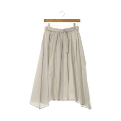 Loungedress ラウンジドレス ひざ丈スカート レディース