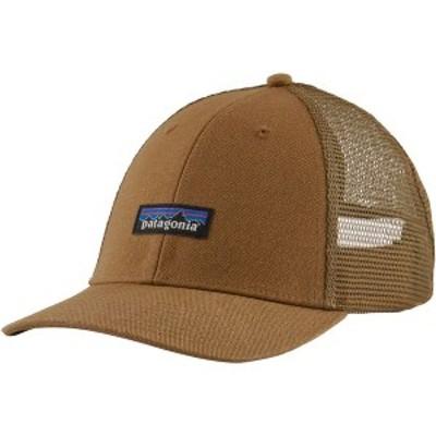 パタゴニア メンズ 帽子 アクセサリー P-6 Label LoPro UnTrucker Hat Coriander Brown