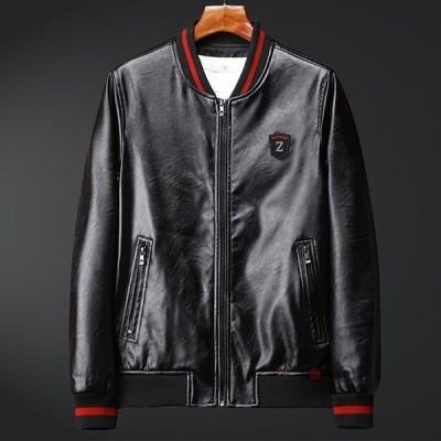 ライダースジャケット メンズ 革ジャン 革ジャケット レザージャケット ジャケット ブルゾン バイク アウター