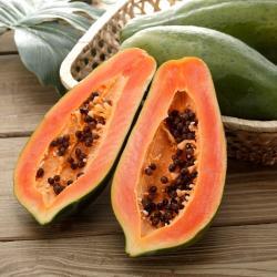 富春山農場 產銷履歷夏威夷草莓木瓜3台斤(3-6顆)