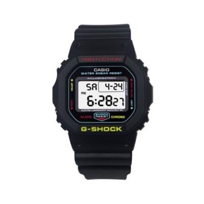 腕時計 カシオ Casio DW5600CMB-1 G-Shock Gray LCD Digital Dial Black Blue Resin Band Watch