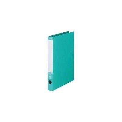 オリジナル TANOSEE ワンタッチ開閉Oリングファイル A4タテ 2穴 170枚収容 背幅29mm グリーン 1冊