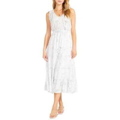 ビービーダコタ レディース スカート ドレス Crystal Clear Dress - Printed Midi Dress w/ Ruffles