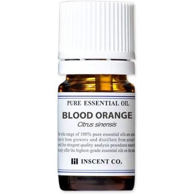 ブラッドオレンジ 5ml インセント エッセンシャルオイル 精油 アロマオイル
