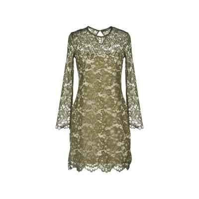 ゲス GUESS ミニワンピース&ドレス ミリタリーグリーン XS ポリエステル 100% ミニワンピース&ドレス