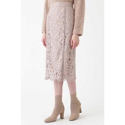 JILLSTUART / ジルスチュアート ◆シンディレースタイトスカート