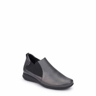 メフィスト MEPHISTO レディース スリッポン・フラット シューズ・靴 Nellie Slip-On Graphite Leather