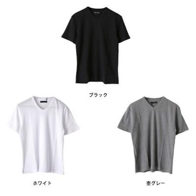 サーマルワッフルVネック半袖Tシャツ