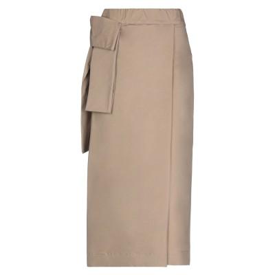 アルファスタジオ ALPHA STUDIO ロングスカート ライトブラウン 44 コットン 98% / ポリウレタン 2% ロングスカート