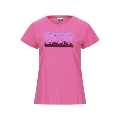 フレディ FREDDY T シャツ フューシャ S コットン 100% / ポリエステル T シャツ
