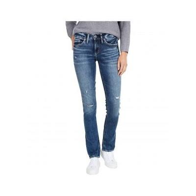 Silver Jeans Co. レディース 女性用 ファッション ジーンズ デニム Suki Mid-Rise Curvy Fit Straight Leg Jeans L93413SDK335 - Indigo