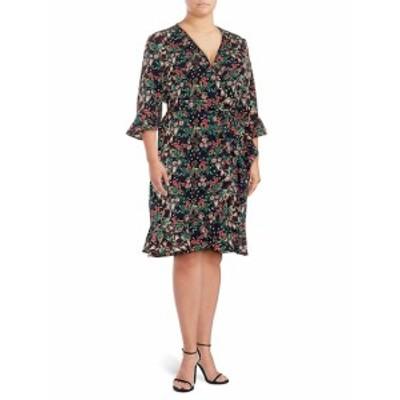 リー&ヴィオラ レディース ワンピース Ruffle Wrap Dress
