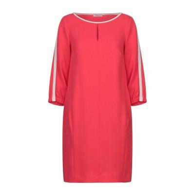 ROSSO35 ミニワンピース&ドレス レッド 40 トリアセテート 73% / ポリアクリル 27% ミニワンピース&ドレス