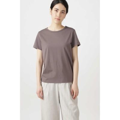 【ヒューマンウーマン/HUMAN WOMAN】 新きょう綿Tシャツ