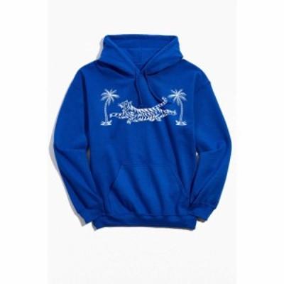 アーバンアウトフィッターズ Urban Outfitters メンズ パーカー スウェット トップス Body Ruiner Tiger Hoodie Sweatshirt Blue